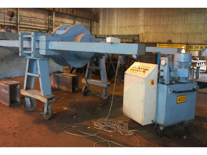 400 ton Horizontal Press