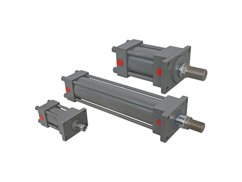 Low Pressure Cylinders, Rectangular Flange Mounting